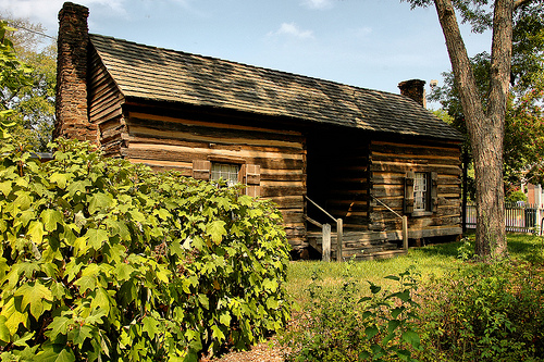 Lumpkin Dogtrot Cabin Photographed By Brian Brown