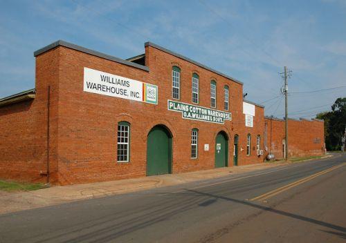 plains-ga-williams-cotton-warehouse-photograph-copyright-brian-brown-vanishing-south-georgia-usa-2011