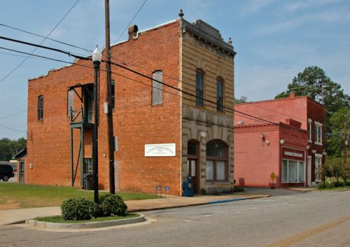 richland-ga-peoples-bank-photograph-copyright-brian-brown-vanishing-south-georgia-usa-2011