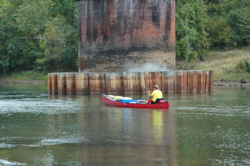 lumber-city-ga-railroad-trestle-canoe-on-ocmulgee-river-photograph-copyright-brian-brown-vanishing-south-georgia-usa-2011
