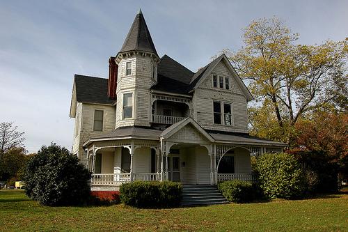 Harman house unadilla vanishing south georgia for 3 story victorian house