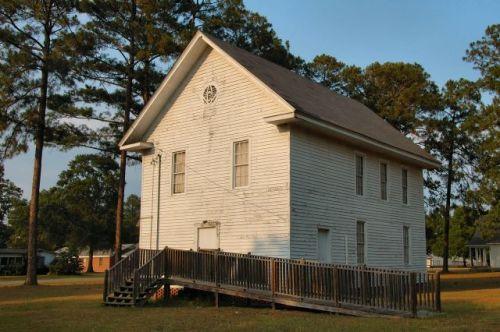 irwinville ga historic masonic lodge photograph copyright brian brown vanishing south georgia usa 2012