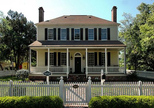 St Marys Ga Camden County Osborn Street Historic District Colonial