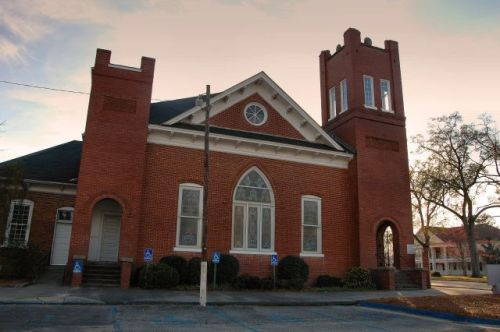 historic norman park baptist church photograph copyright brian brown vanishing south georgia usa 2016