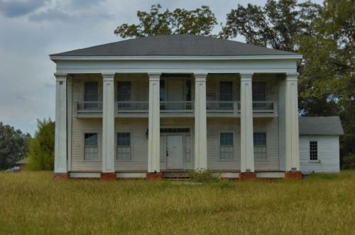 cuthbert ga baptist female college dormitory photograph copyright brian brown vanishing south georgia usa 2012