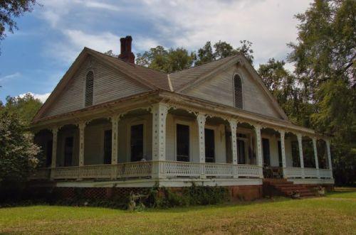 cuthbert ga c n simpson house photograph copyright brian brown vanishing south georgia usa 2012