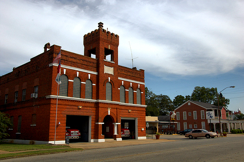 dawson-ga-fire-department-photograph-copyright-brian-brown-vanishing-south-georgia-usa-2012