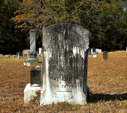 historic-pleasant-hill-baptist-cemetery-rebecca-ga-allen-smith-photograph-copyright-brian-brown-vanishing-south-georgia-usa-2012