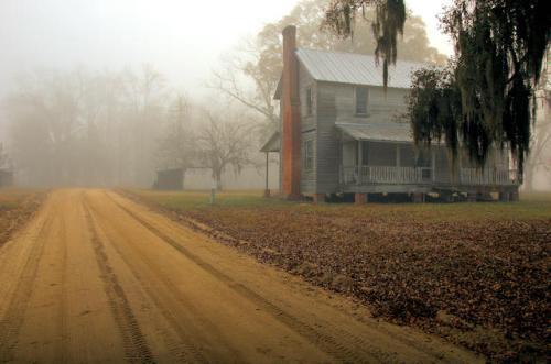 long-county-ga-henry-walcott-house-fog-photograph-copyright-brian-brown-vanishing-south-georgia-usa-2012