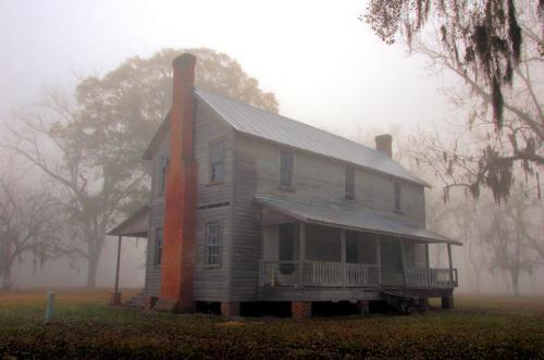 long-county-ga-henry-walcott-house-rear-view-photograph-copyright-brian-brown-vanishing-south-georgia-usa-2012