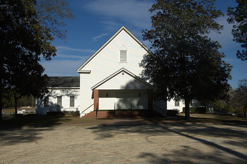 Bay Branch Primitive Baptist Church Evans County GA Picture Image Photograph © Brian Brown Vanishing South Georgia USA 2013