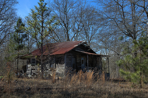 Tenant Farmhouse James O Waters Road Vanishing South