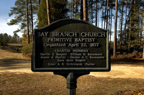 historic-bay-branch-primitive-baptist-church-historic-marker-evans-county-ga-photograph-copyright-brian-bown-vanishing-south-georgia-usa-2013