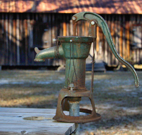 historic-emmaus-primitive-baptist-church-charlton-county-ga-water-pump-photograph-copyright-brian-brown-vanishing-south-georgia-usa-2013
