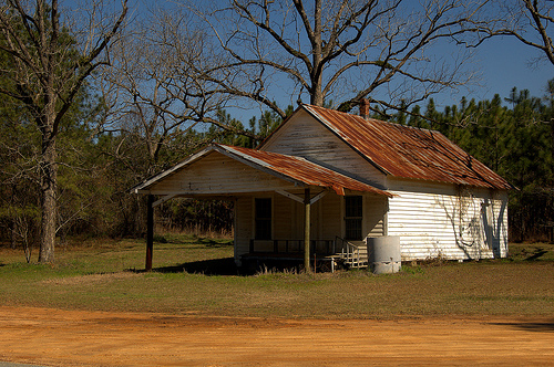 Toombs County GA Abandoned Country Store Iconic Style Picture Image Photograph © Brian Brown Vanishing South Georgia USA 2013