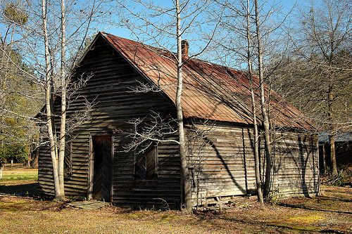 Tusculum GA Effingham County Old Country Store Vernacular Architecture Early 20th Century Picture Image Photo © Brian Brown Vanishing South Georgia USA 2013