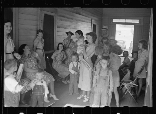 Irwinville Farms GA Great Depression Resettlement Farm Security Administration Photograph by John Vachon Courtesy Library of Congress Brian Brown Vanishing Media USA 2013