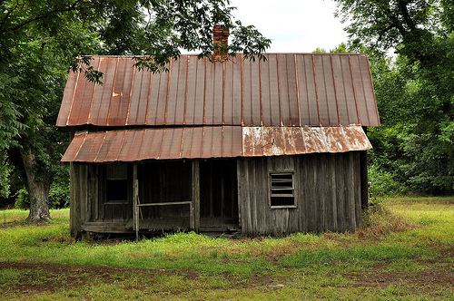 Montgomery county ga abandoned farmhouse vernacular for Board and batten farmhouse