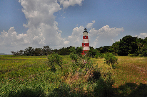 Sapelo Island GA Light Lighthouse Station Picture Image Photograph © Brian Brown Vanishing South Georgia USA 2013