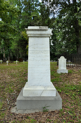 historic-richland-baptist-cemetery-twiggs-county-ga-mary-ware-headstone-image-photograph-copyright-brian-brown-vanishing-south-georgia-usa-2013
