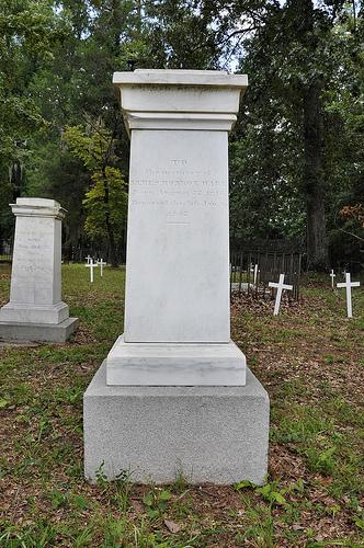 Richland Baptist Church Cemetery Twiggs County GA Historic Landmark James Monroe Ware Marble Headstone Picture Image Photograph Copyright © Brian Brown Vanishing South Georgia USA 2013
