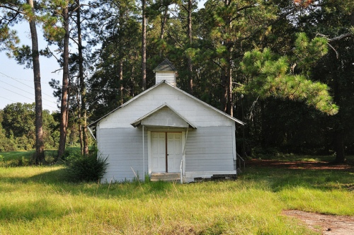 African-American Vernacular Church Architecture Cordele Ga Picture Image Photograph Copyright © Brian Brown Vanishing South Georgia USA 2013