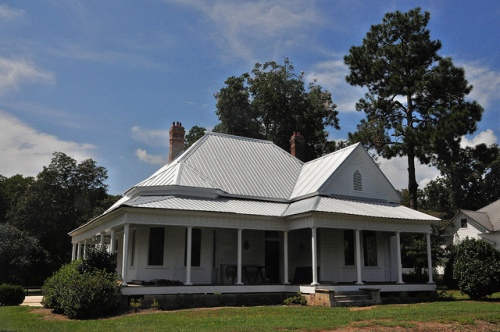 Arabi GA Crisp County Neoclassical Vernacular Architecture House Picture Image Photograph Copyright © Brian Brown Vanishing South Georgia USA 2013