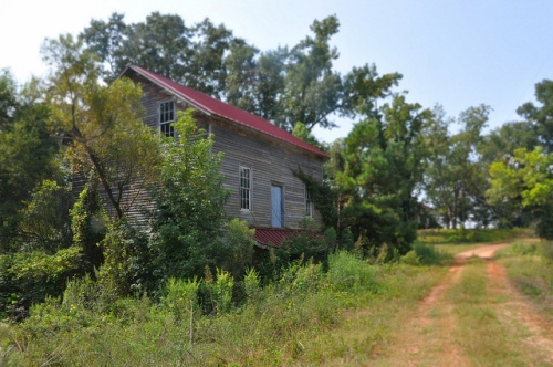 Brown's Mill Sumter County GA Abandoned Maintained Dirt Road Picture Image Photogrpah Copyright © Brian Brown Vanishing South Georgia USA 2013