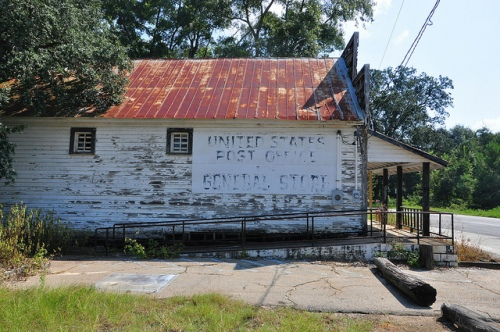 Fowlstown GA Decatur County General Store Post Office Picture Image Photograph Copyright © Brian Brown Vanishing South Georgia USA 2013