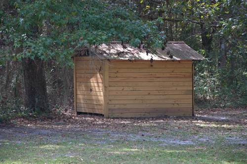 Bethlehem Primitive Baptist Church Bachlott GA Brantley County Hardshell Outhouse Privy Picture Image Photograph Copyright © Brian Brown Vanishing South Georgia USA 2013