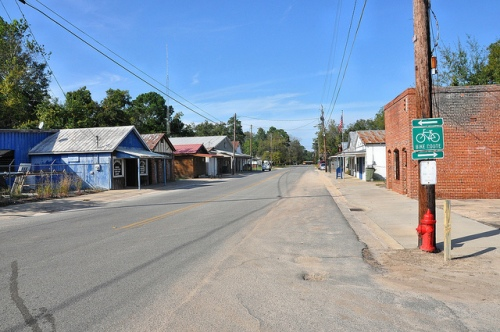 Enigma GA Berrien County Main Street Picture Image Photograph Copyright © Brian Brown Vanishing South Georgia USA 2013