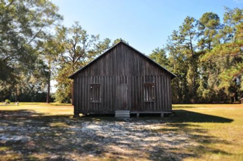 historic oak grove primitive baptist church raybon ga elevation photograph copyright brian brown vanishing south georgia usa 2013