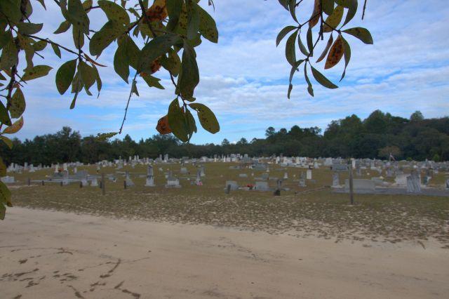historic shiloh cemetery blackshear ga photograph copyright brian brown vanishing south georgia usa 2013