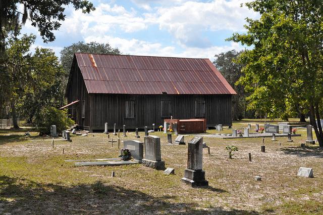 Smyrna Baptist Church Lulaton GA Brantley County Primitive Hardshell ...