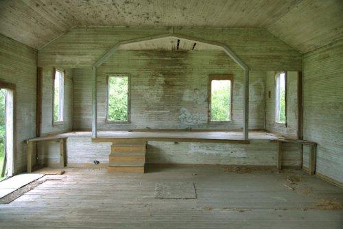 historic cumorrah church lds interior douglas coffee county ga photograph copyright brian brown vanishing georgia usa 2021