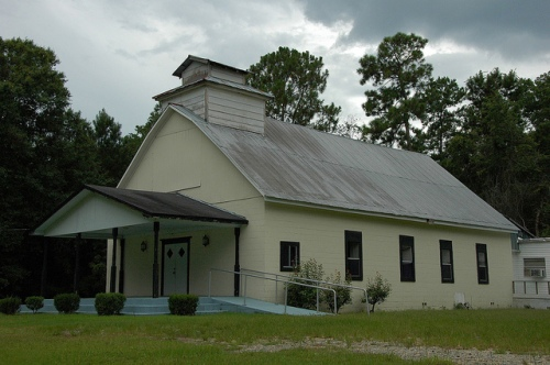 Saco Missionary Baptist Church Cotton GA Mitchell County Photograph Copyright Brian Brown 2013