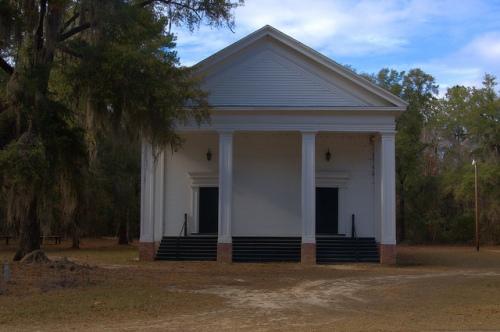 Big Buckhead Baptist Church Jenkins County GA Antebellum Landmark Civil War Site Photograph Copyright Brian Brown Vanishing South Georgia USA 2013