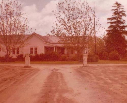 Brown Farm Farmhouse Ben Hill County GA Peaches Pecans Photograph Copyright Vanishing Media USA 2013