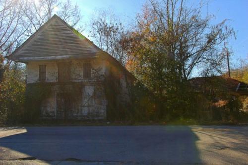 Girard GA Burke County Abandoned General Store Photograph Copyright Brian Brown Vanishing South Georgia USA 2013