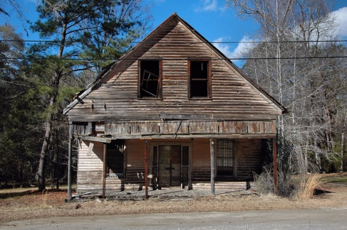 Oconee GA Washington County LeConte Merchandise Company Country Store Abandoned Photograph Copyright Brian Brown Vanishing South Georgia USA 2013