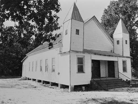 Skull Creek Baptist Church No. 2 Georgia Archives Image