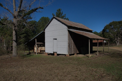 Tift County GA Grady Jones Farm  Packhouse Photograph Copyright Brian Brown Vanishing South Georgia USA 2013