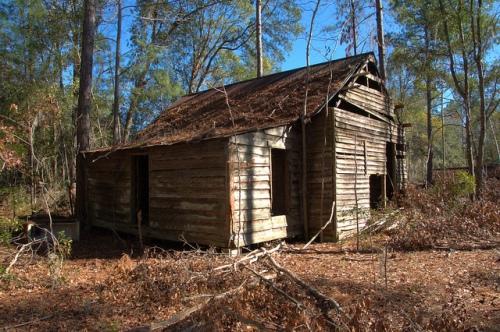Wefanie GA Long County Vernacular Farmhouse Photograph Copyright Brian Brown Vanishing South Georgia USA 2013