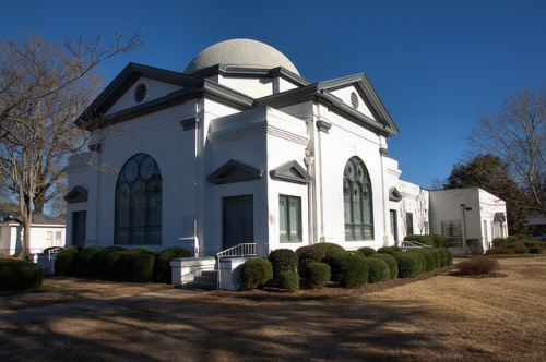 Associate Reformed Presbyterian Church Louisville GA Jefferson County Photograph Copyright Brian Brown Vanishing South Georgia USA 2014