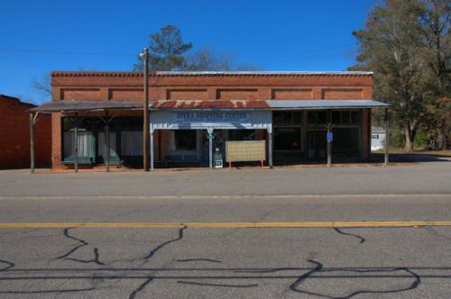 Avera GA Jefferson County General Merchandise Country Store Photograph Copyright Brian Brown Vanishing South Georgia USA 2014