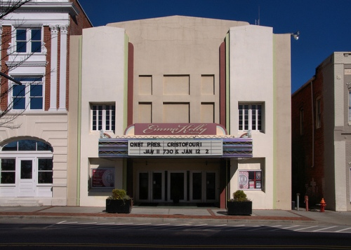 Emma Kelly Theatre Statesboro GA Renovated Photograph Copyright Brian Brown Vanishing South Georgia USA 2014