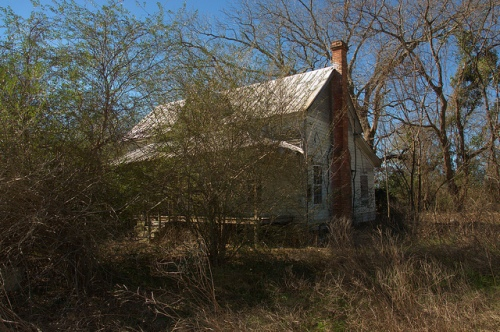 Folk Victorian Farmhouse Bulloch County GA Rural Forgotten Photograph Copyright Brian Brown Vanishing South Georgia USA 2014