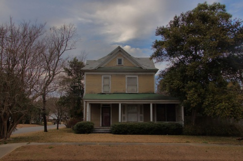 Gelders House FItzgerald GA Photograph Copyright Brian Brown Vanishing South Georgia USA 2014