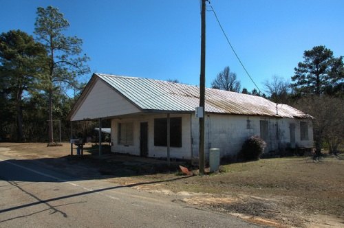 Grange Community Jefferson County GA Old Country Store Photograph Copyright Brian Brown Vanishing South Georgia USA 2014