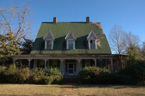McDaniel House Louisville GA Jefferson County 7th & Mulberry Photograph Copyright Brian Brown Vanishing South Georgia USA 2014
